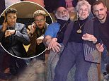 Christmas with the Godfather! James Franco spends the holidays with legendary director Francis Ford Coppola… after The Interview is released on YouTube