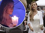 Petra Nemcova in Thailand for anniversary of tsunami which claimed life of fiance Simon Atlee