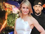 Cameron Diaz and Benji Madden say 'I do' at her Beverly Hills mansion wedding