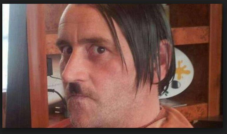Leader of German anti-Islam group quits after dressing up as Hitler for Facebook picture