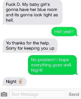 Best wrong number text chat ever?