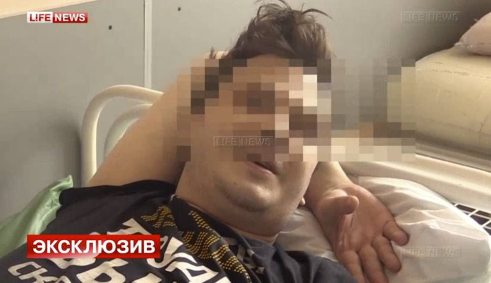 Married TV actor wakes up to find his testicles have been stolen after kissing young woman in sauna
