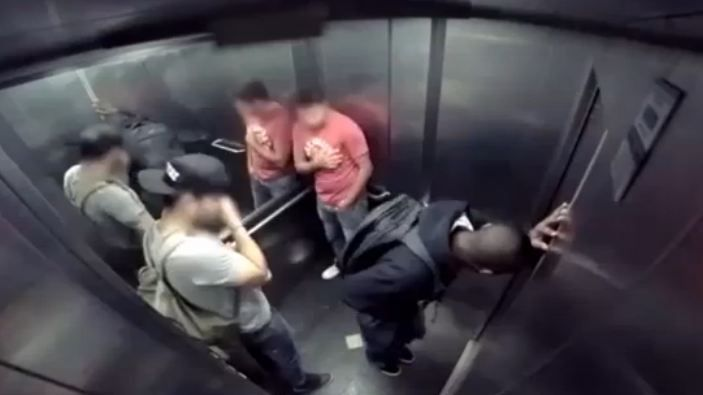 Explosive diarrhoea in a lift prank is really revolting
