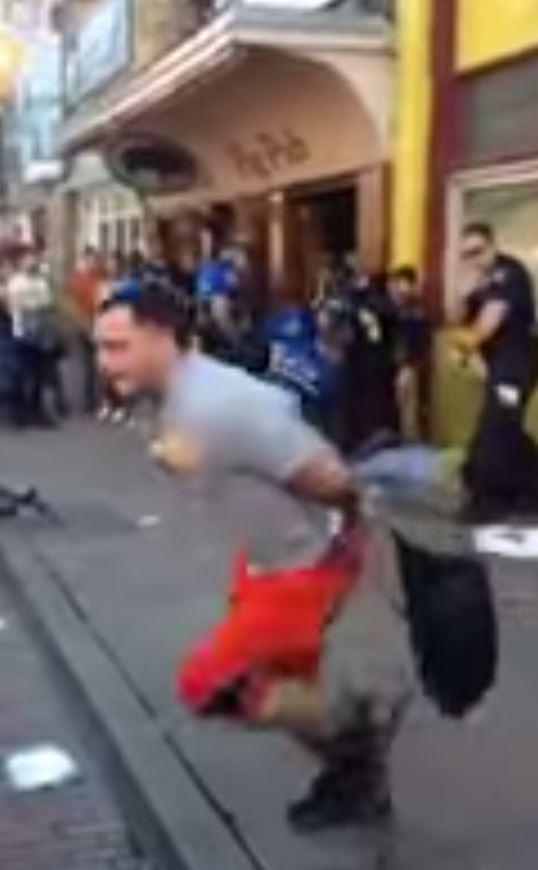 Handcuffed man makes a daring escape from cops at SXSW festival