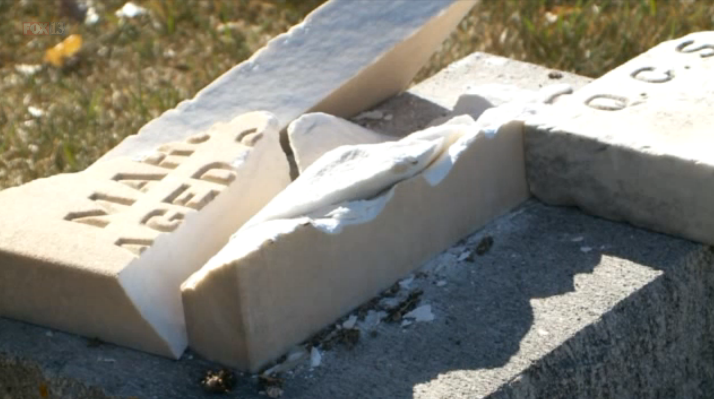 Man 'damaged 30 headstones so dead could be resurrected'