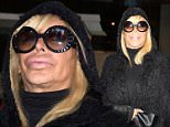 Mob Wives star Big Ang hospitalized after 'doctors discover massive tumour in her throat'