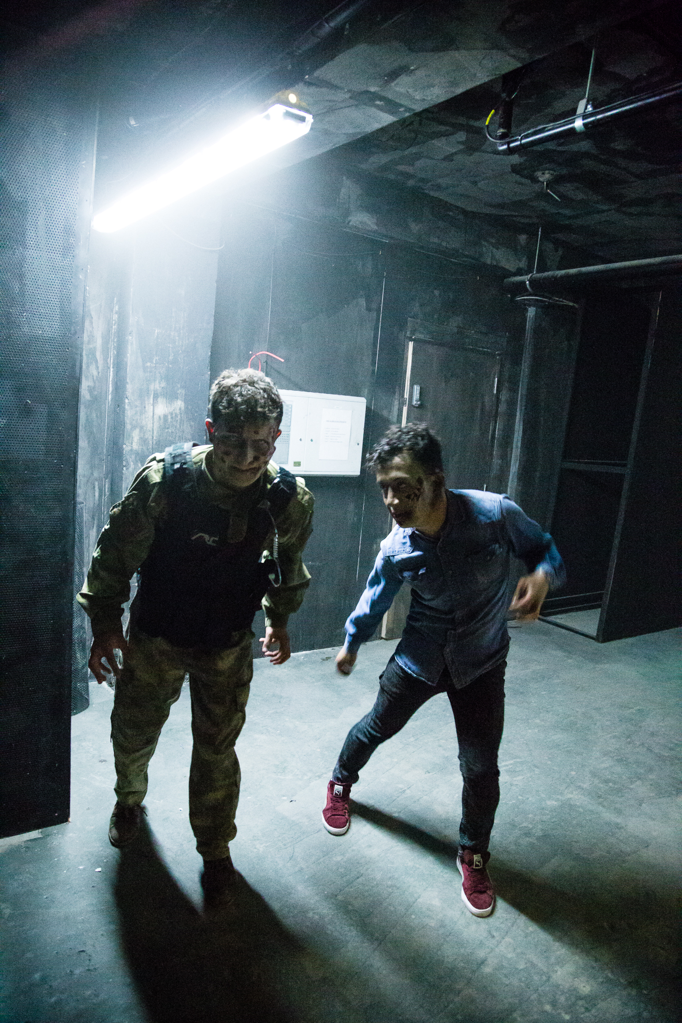 The Generation of Z is the latest zombie scare attraction to hit London, and it's terrifying