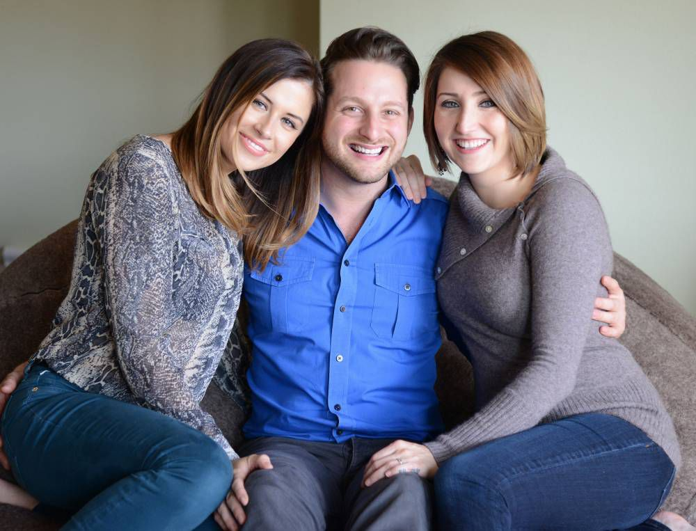 Man with two girlfriends, a super-kingsize bed and a lust for a third woman in his life