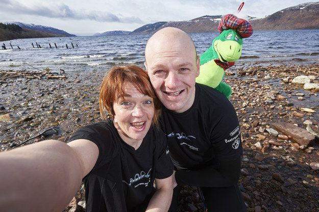 Want to win £50,000? Just get a selfie with the Loch Ness Monster (and run a marathon)