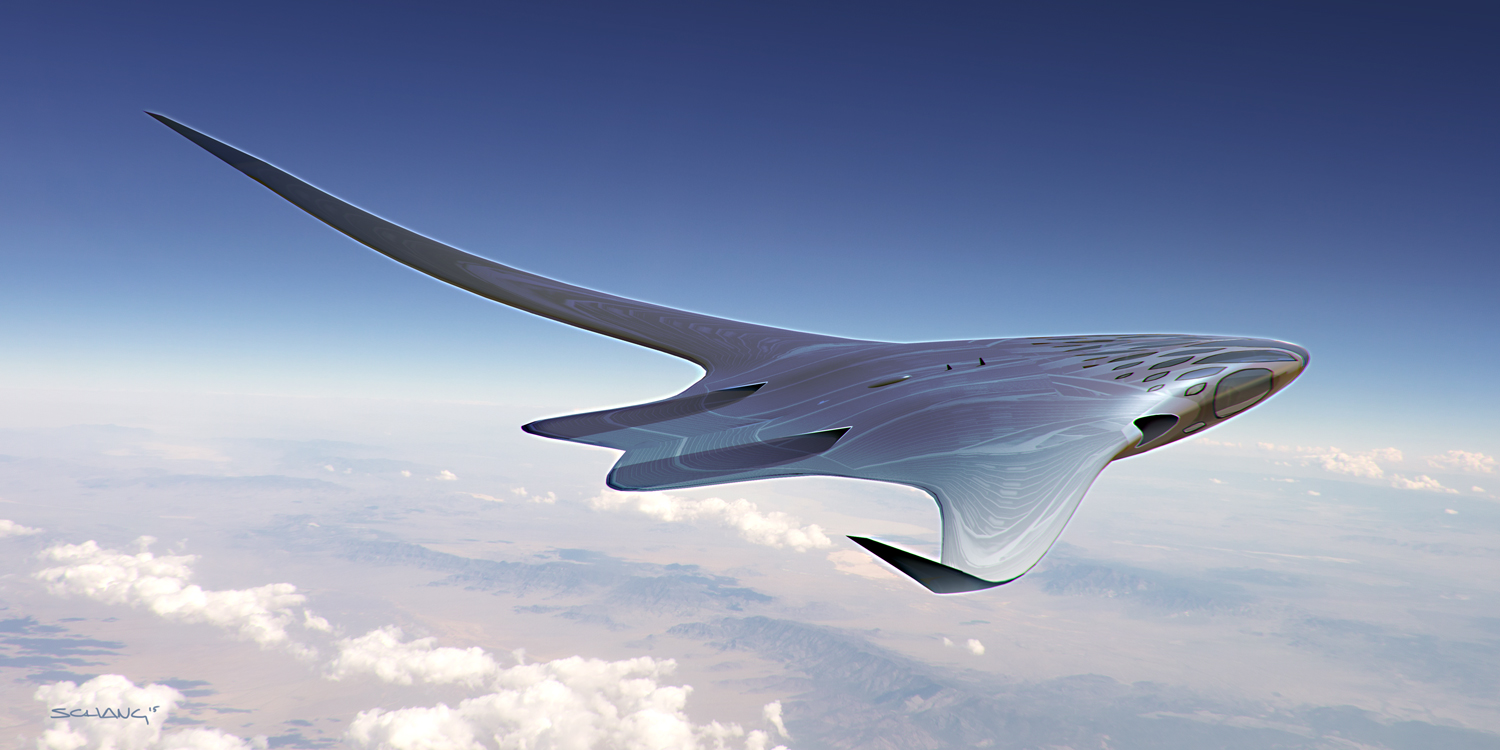How the future of flight will look according to a Star Wars designer