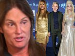 Lady Gaga, Laverne Cox, Ellen DeGeneres and Miley Cyrus offer support as Bruce Jenner confirms he's transitioning into a woman