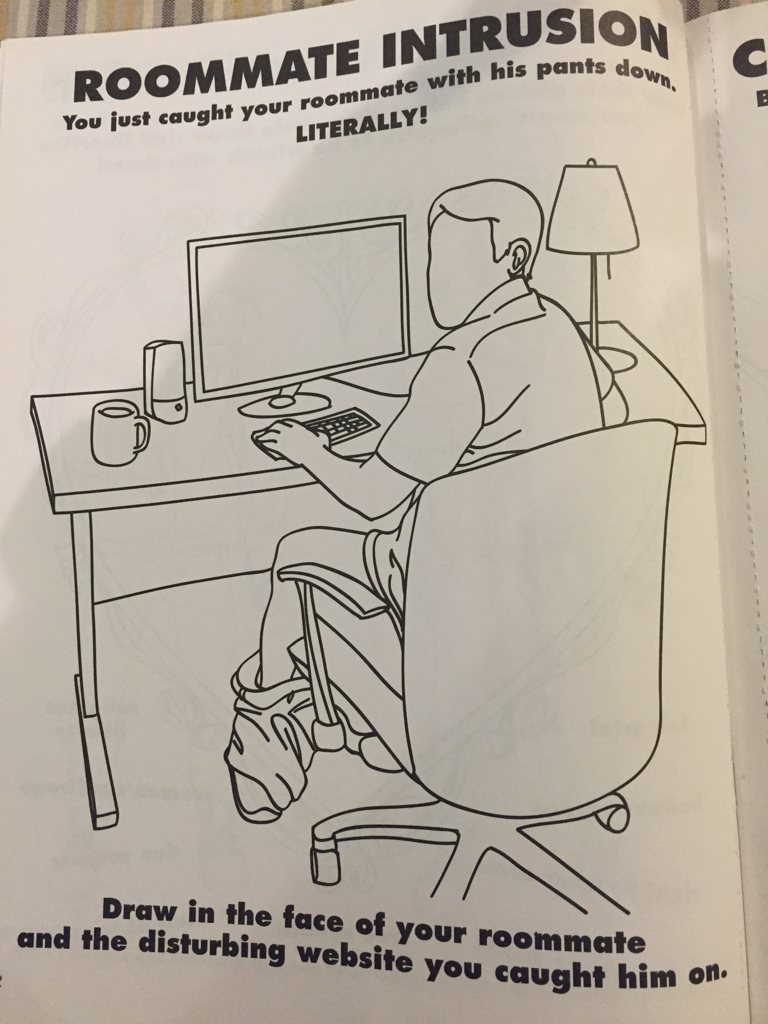 This might just be the greatest colouring book of all time