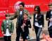David Beckham And Family Support Romeo Beckham As He Completes Junior London Marathon (PICS)