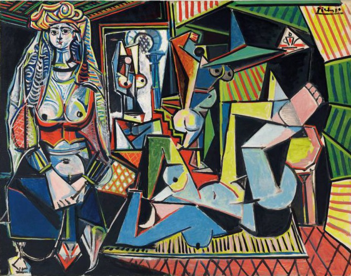Fox News blurred out the breasts on a £115million Picasso painting for some reason