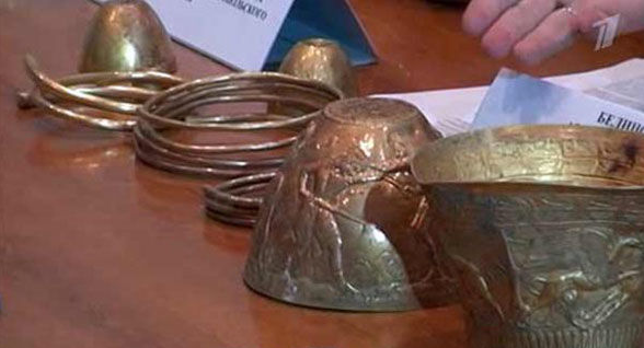 2,400-year-old 'bongs' used by kings to smoke cannabis and opium are dug up in Russia