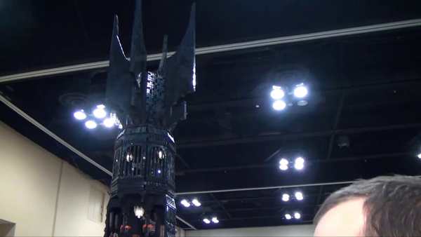 Just an 8ft replica of Saruman's tower made from Lego