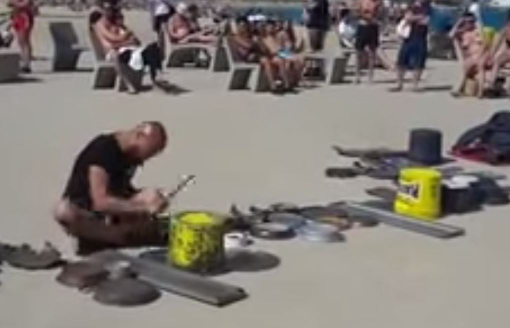 This amazing drummer proves that you don't need an expensive kit