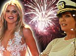 Khloe Kardashian and Kris Jenner are sued for huge fireworks display on yacht party