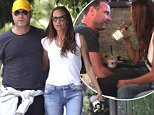 Liev Schreiber on PDA filled stroll with mystery brunette