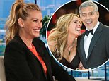 Julia Roberts offers George Clooney twin-raising advice
