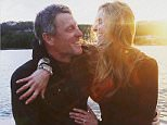 Lance Armstrong pops the question to Anna Hansen