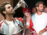 Bella Thorne hides while spotted with Scott Disick again