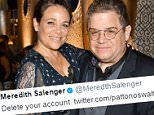 Meredith Salenger orders Patton Oswalt to quit Twitter