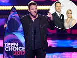 Chris Pratt wins Teen Choice Awards for GOTG 2
