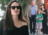 Angelina Jolie enjoys outing with estranged dad Jon Voight