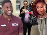 Kevin Hart is in Georgia, pregnant wife in Beverly Hills