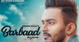 Barbaad Lyrics – Ronnie Singh