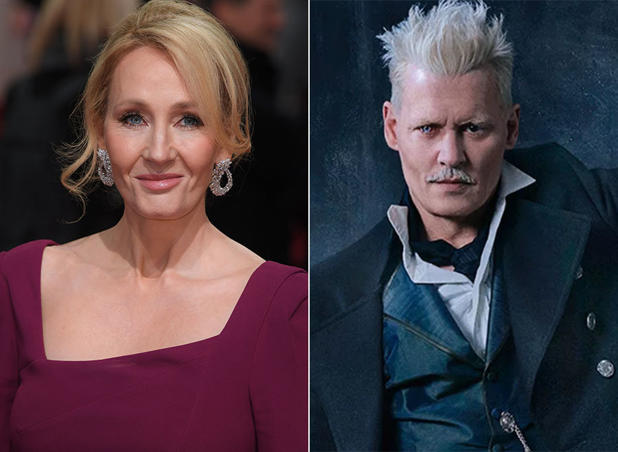 J.K. Rowling Finally Breaks Silence Over 'Fantastic Beasts' Johnny Depp Casting Controversy