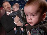 Jimmy Kimmel holds son Billy on TV after heart surgery