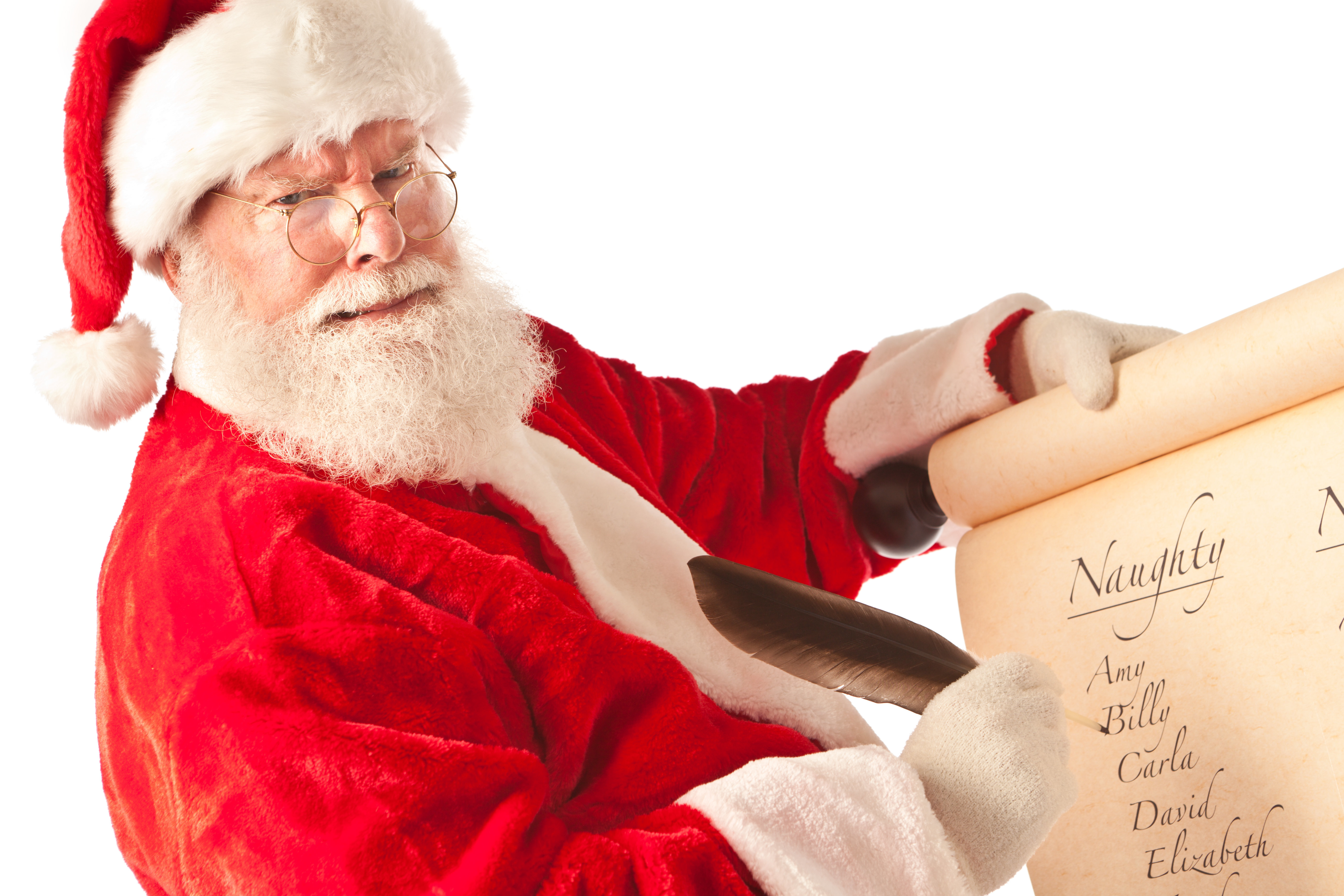 The Trouble With The Naughty List…