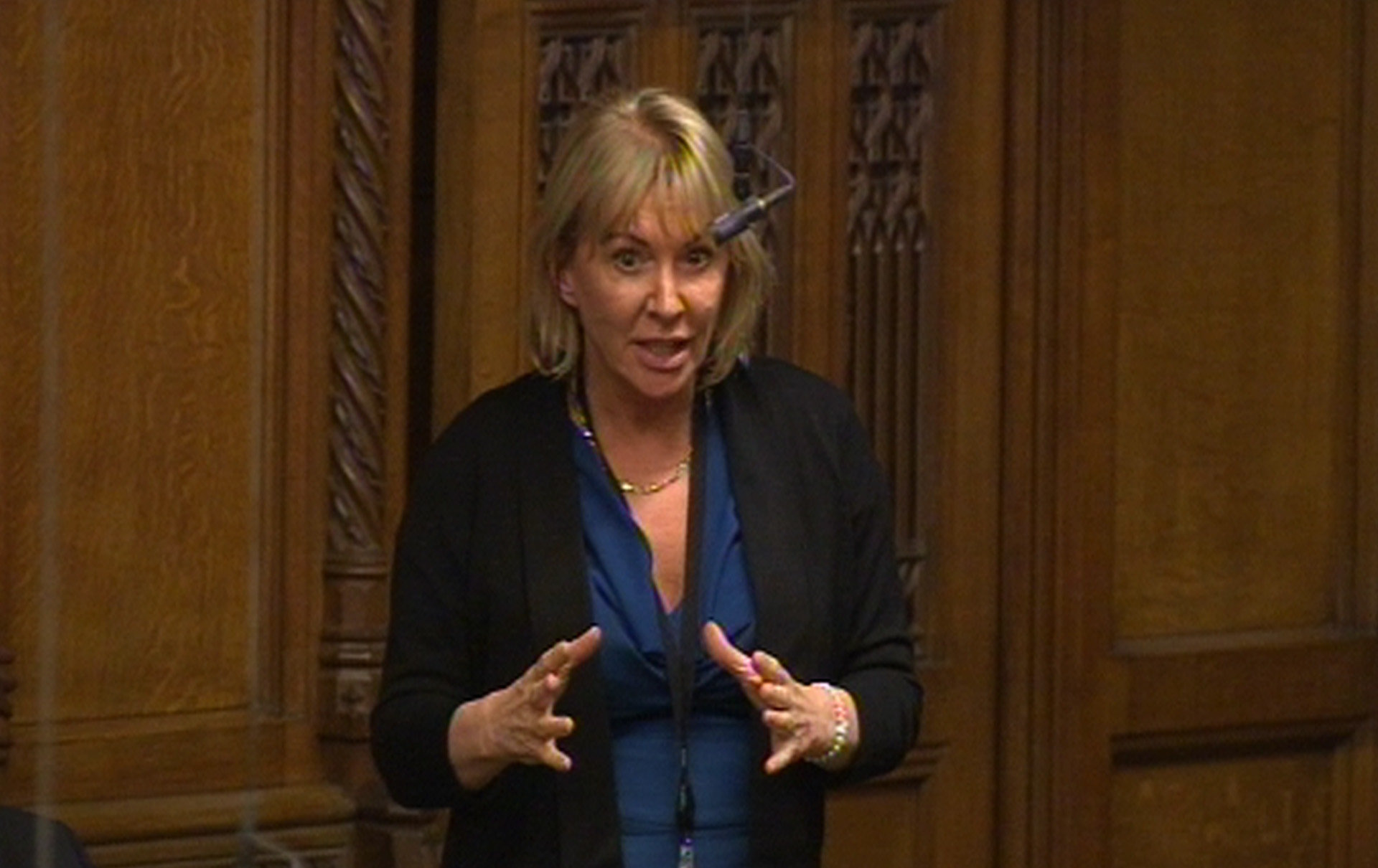 Nadine Dorries Rages At 'Treacherous' Tory MPs After Brexit Rebellion