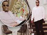 Diddy shows off his stunning Los Angeles mansion to Vogue