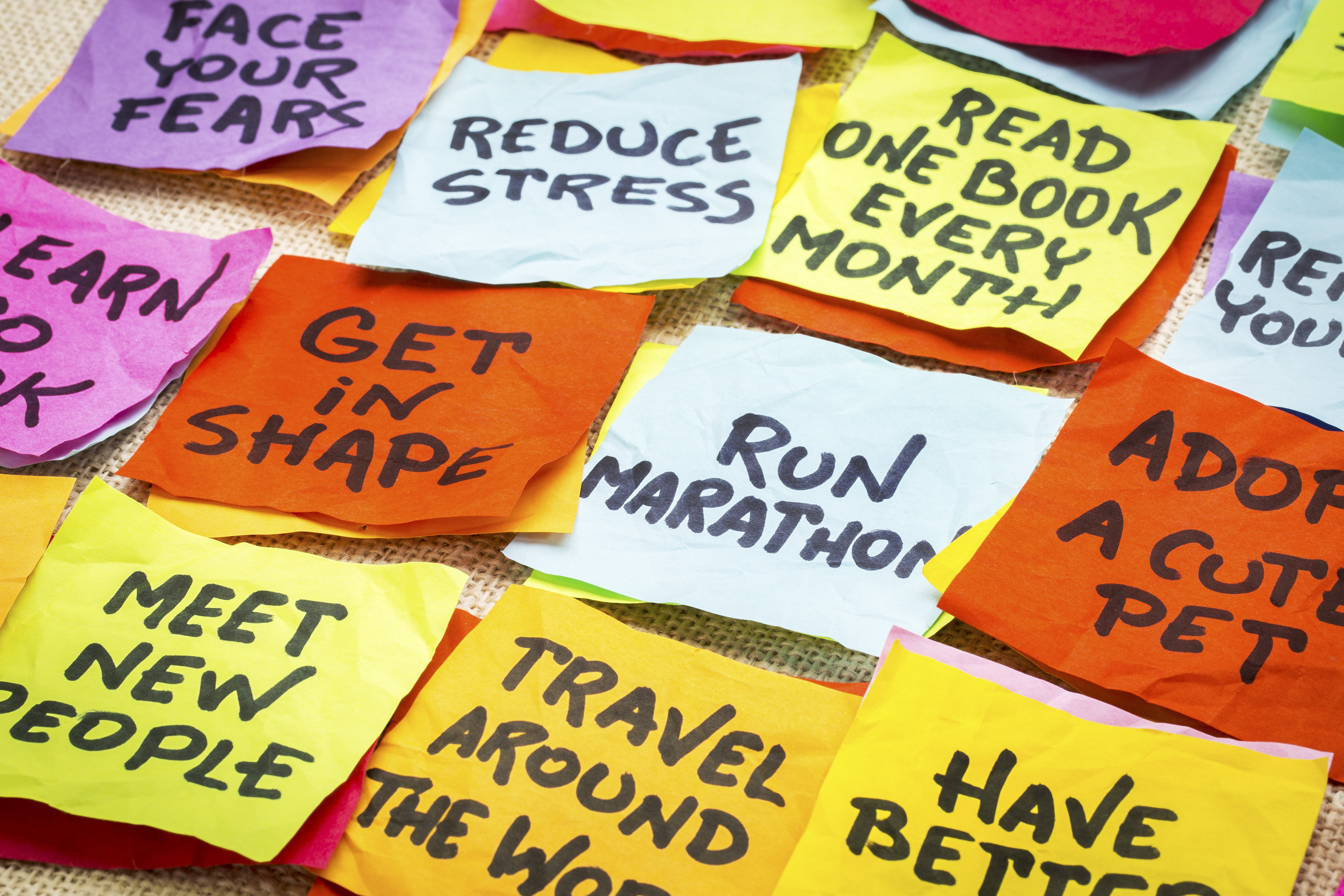 Seven Totally Doable Mental Health Resolutions