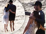 Dakota Johnson and Chris Martin flaunt love on the beach