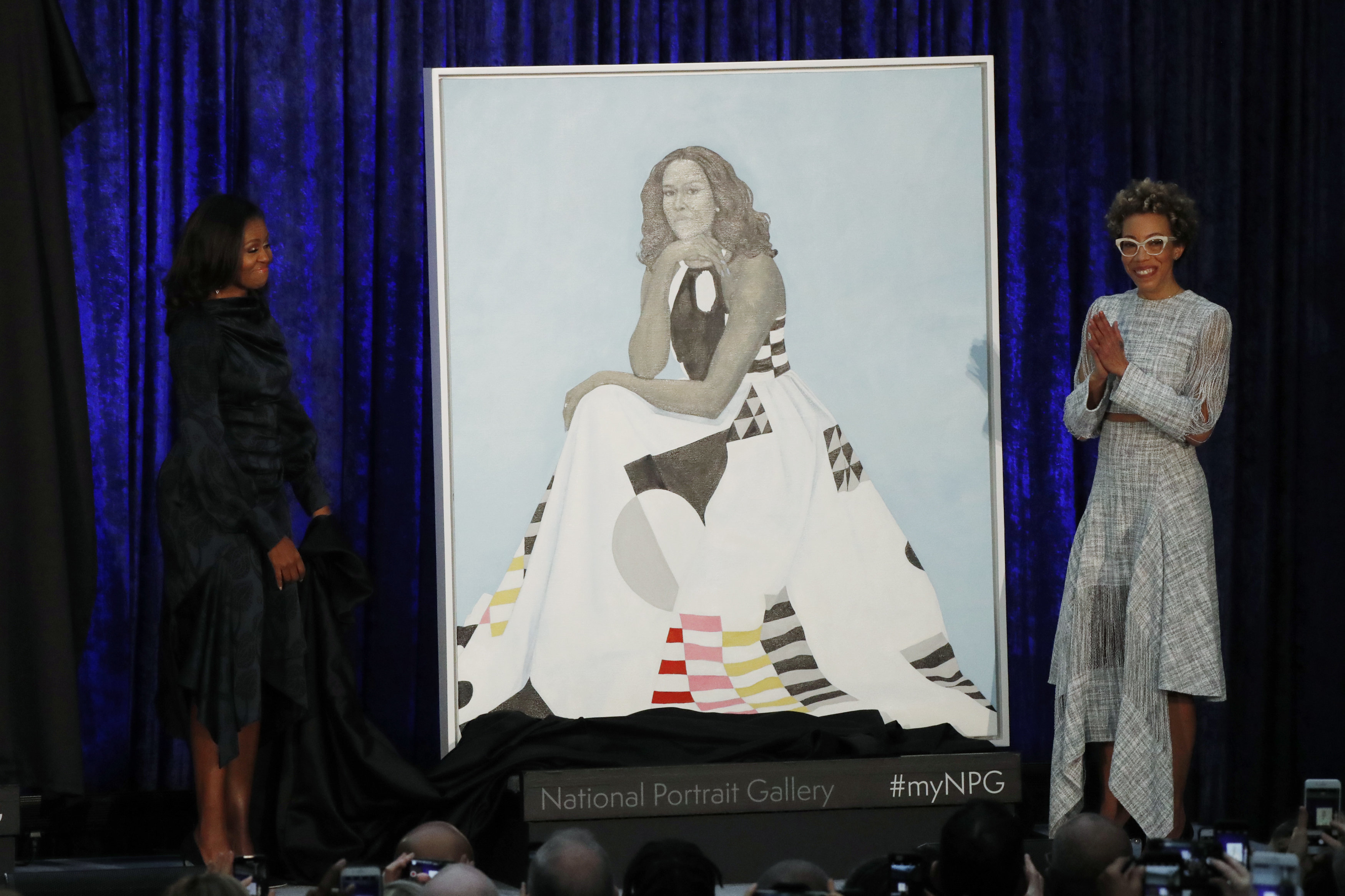 Barack And Michelle Obama's Official Portraits Are Unveiled