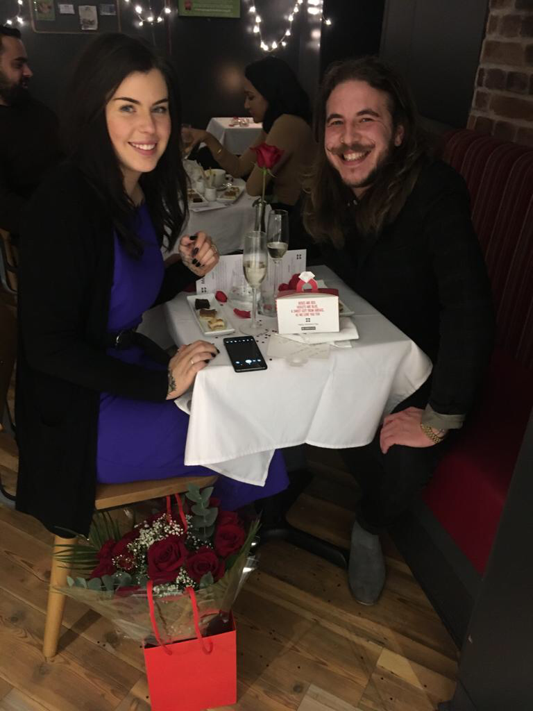This Guy Proposed In Greggs On Valentine's Day