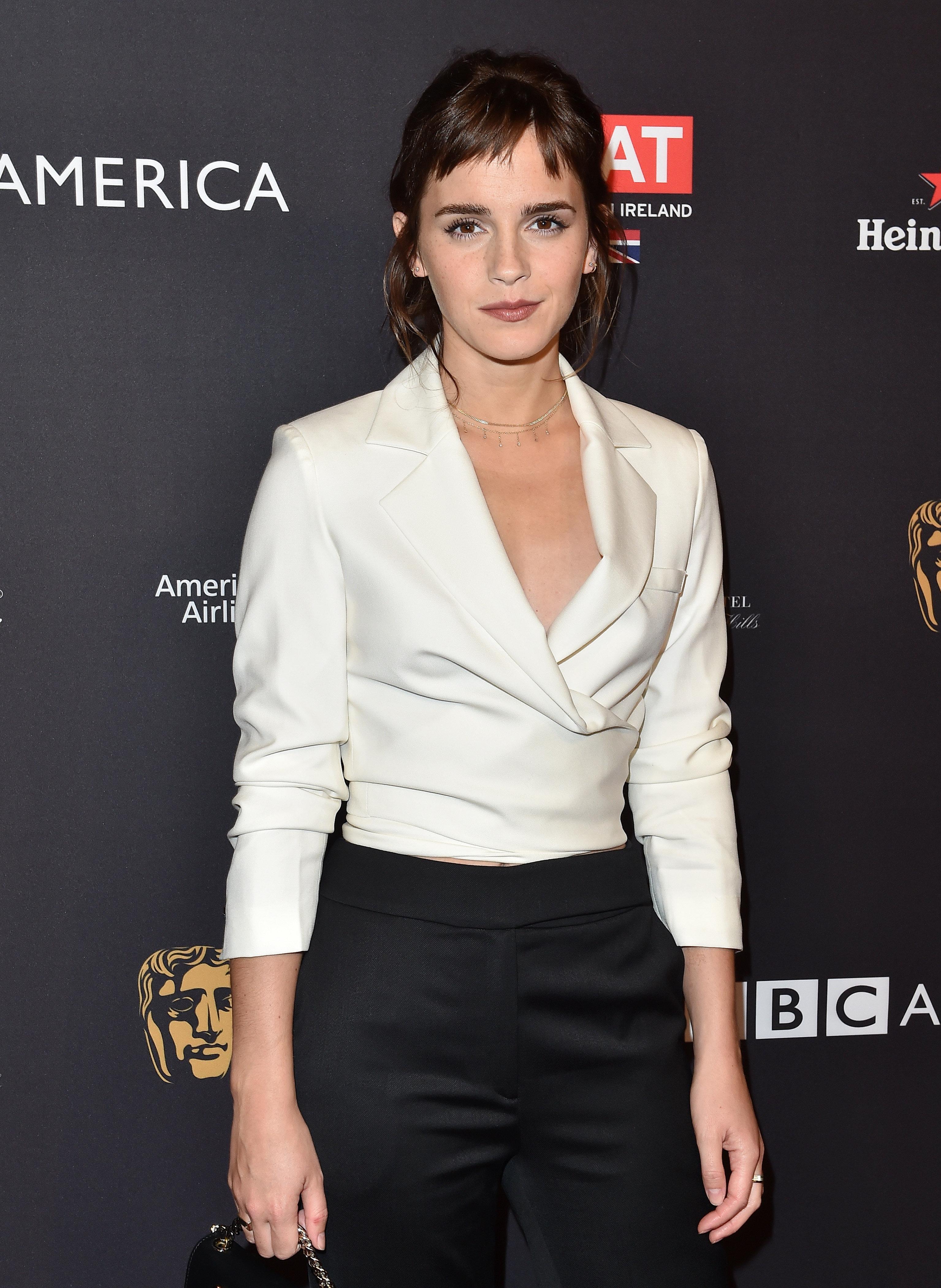 Emma Watson Donates £1 Million As British Stars Back 'Time's Up' Ahead Of Baftas
