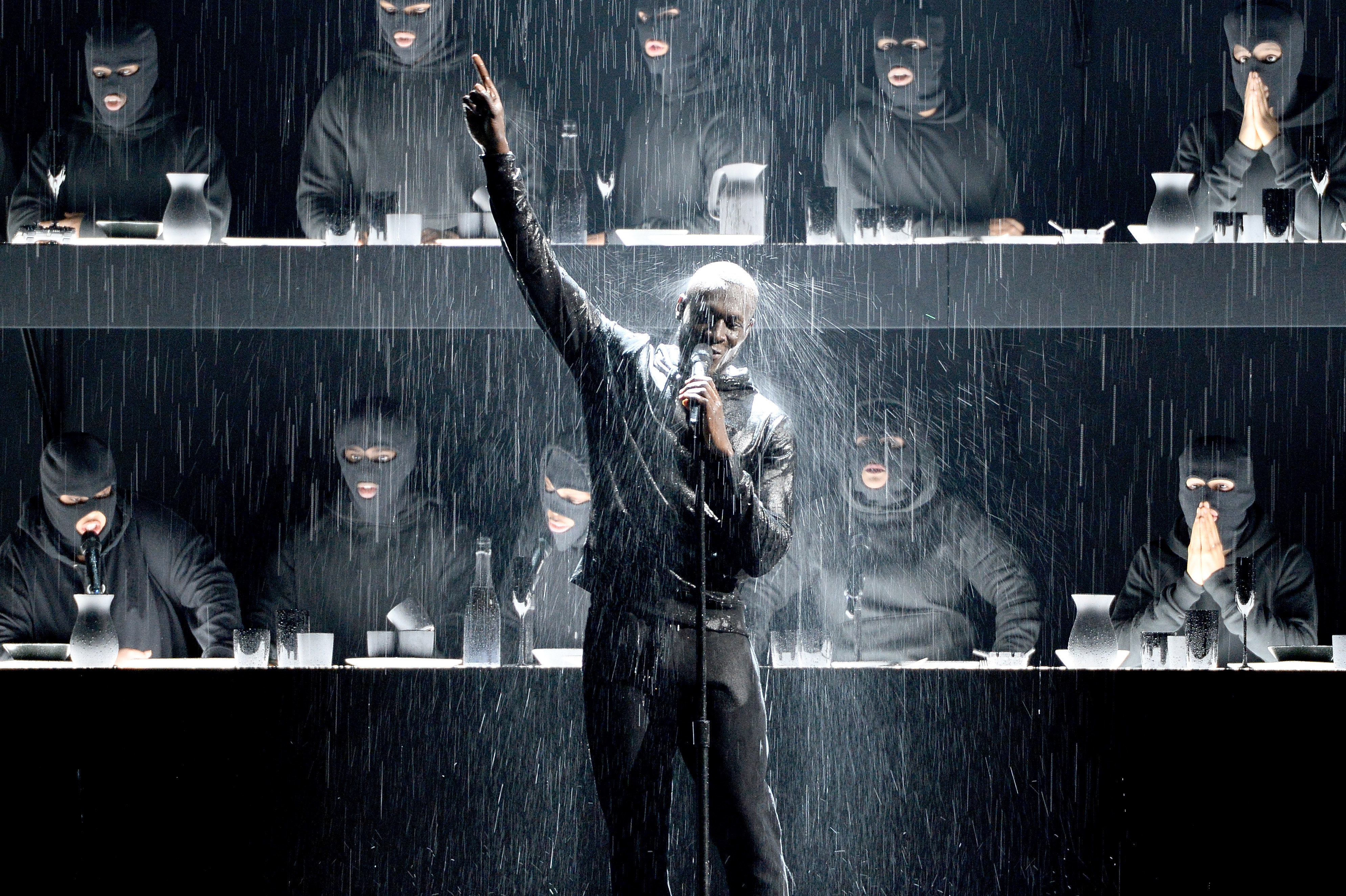 Brit Awards 2018: Stormzy Calls Out Theresa May Over Grenfell Tower In Show-Stopping Performance