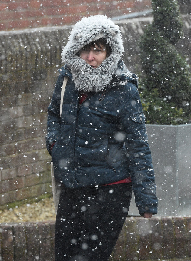 'Mini Beast From The East' Looms As Snow Falls Overnight In The UK