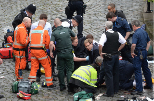 MP Tobias Ellwood Still 'Haunted' By Westminster Attack Death of PC Keith Palmer