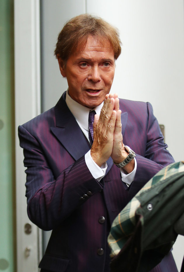 Sir Cliff Richard Breaks Down As He Gives Evidence In BBC Court Battle