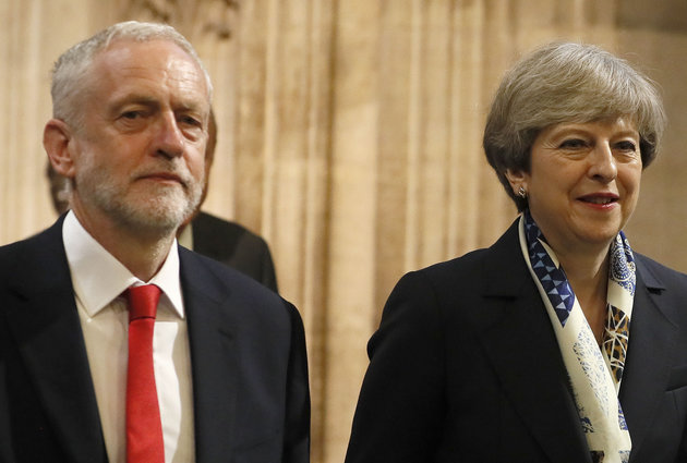 Voters' Minds Unchanged On Theresa May And Jeremy Corbyn Despite Windrush Scandal, Poll Reveals