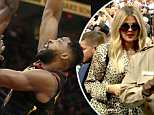 Khloe Kardashian supported Tristan Thompson at Cavaliers game