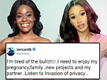 Cardi B deletes her Instagram after Azealia Banks called her a 'caricature of a black woman'