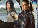Evangeline Lilly sustained 'open wounds' on her arms after refusing Lost stunt double