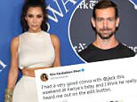 Kim Kardashian had conversation with Twitter CEO about edit button